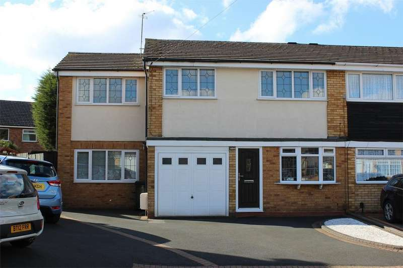 4 Bedrooms Semi Detached House for sale in Forth Way, Halesowen