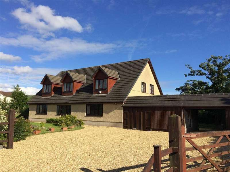 5 Bedrooms Detached House for sale in Pererin, Carway, Llanelli