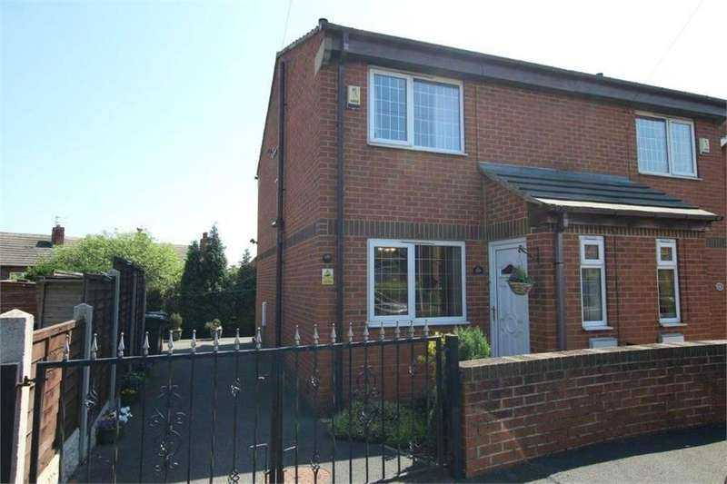 2 Bedrooms Semi Detached House for sale in Mortimer Avenue, BATLEY, West Yorkshire