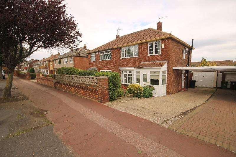 3 Bedrooms Semi Detached House for sale in Catcote Road, Hartlepool