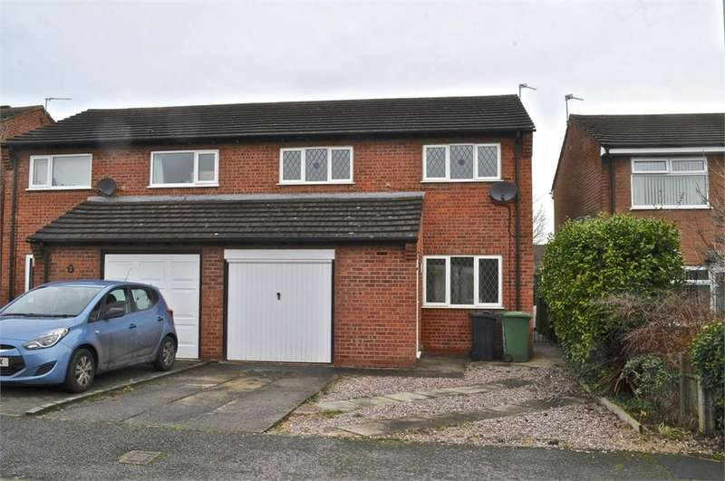 3 Bedrooms Semi Detached House for sale in Bracken Way, Barnton, Northwich, Cheshire