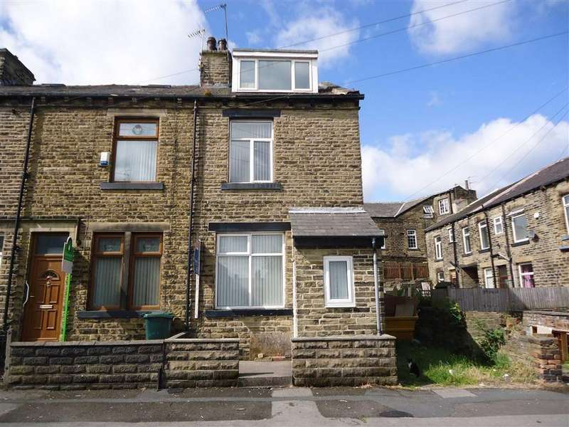 3 Bedrooms End Of Terrace House for sale in Low Green Terrace, Bradford, West Yorkshire, BD7