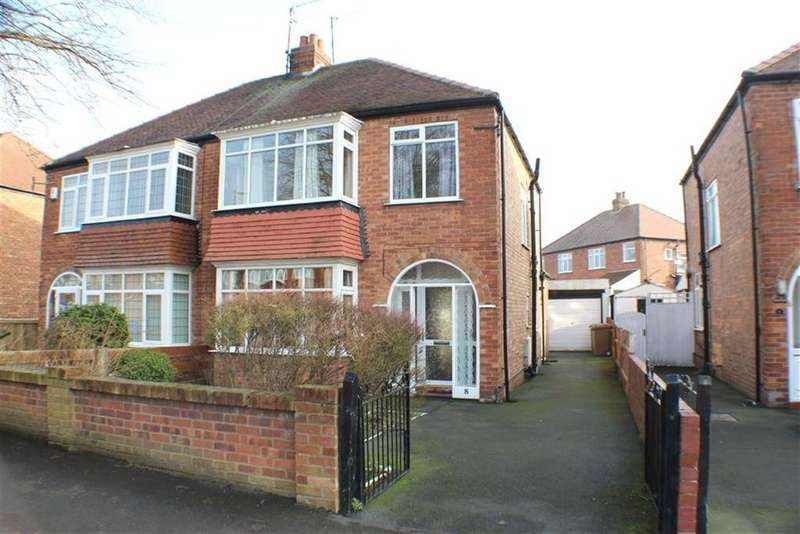 3 Bedrooms Semi Detached House for sale in Nightingale Road, Bridlington, East Yorkshire