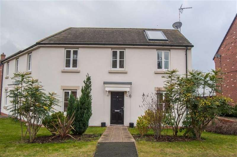 2 Bedrooms Semi Detached House for sale in Maddocks Close, Farndon, Chester, Chester