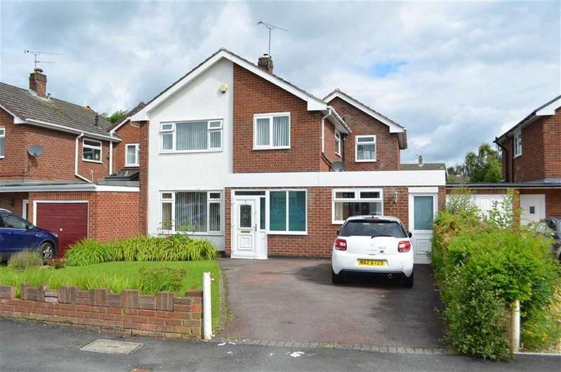 4 Bedrooms Link Detached House for sale in Rushton Drive, Upton, Chester, Chester