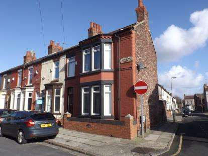 3 Bedrooms End Of Terrace House for sale in Lynholme Road, Anfield, Liverpool, Merseyside, L4