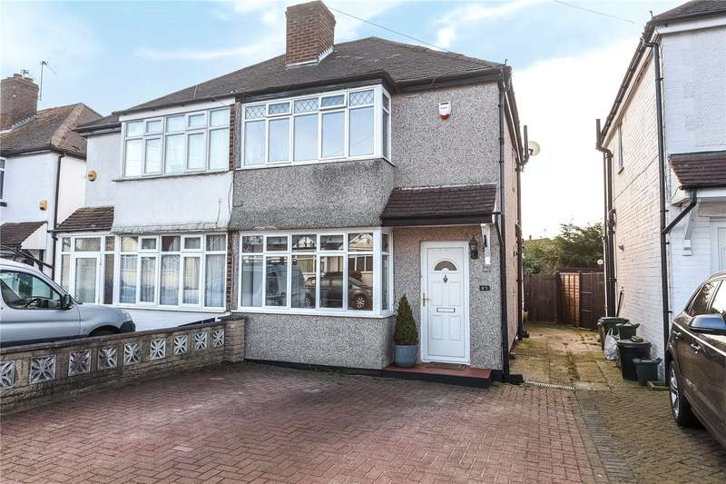 2 Bedrooms Semi Detached House for sale in Crosier Way, Ruislip, Middlesex, HA4