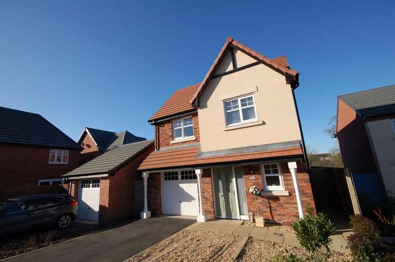 3 Bedrooms Detached House for sale in Elbourne Drive, Scholar Green