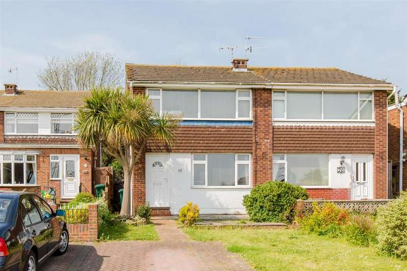 2 Bedrooms Semi Detached House for sale in Rowan Close, Portslade, Brighton