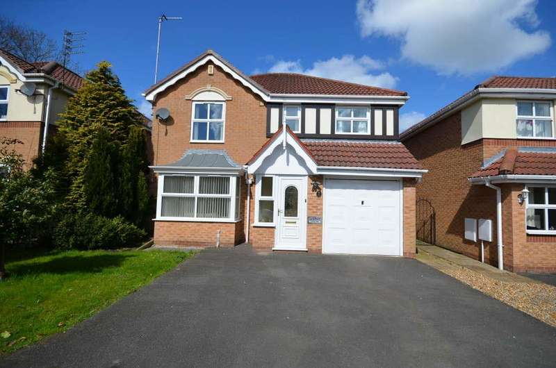 4 Bedrooms Detached House for sale in Percival Way, Eccleston