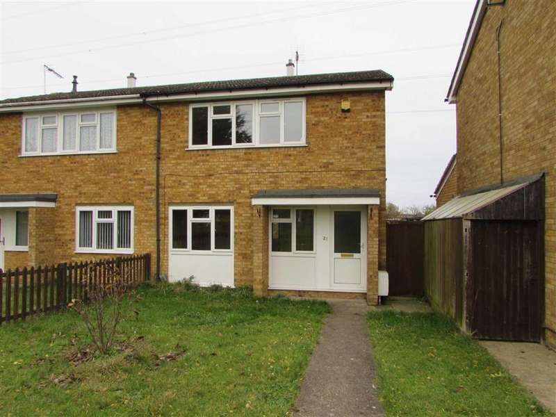 3 Bedrooms Semi Detached House for sale in Therfield Walk, Houghton Regis, Bedfordshire, LU5