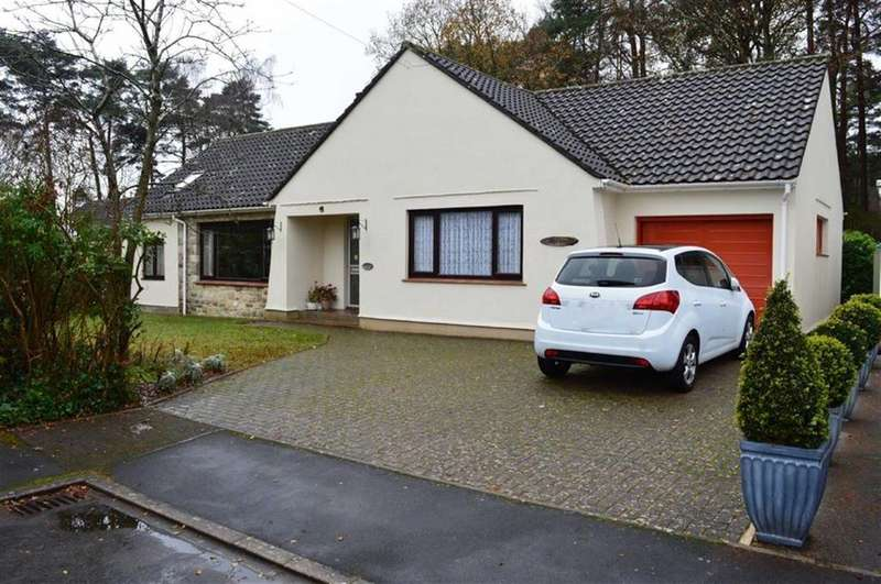 4 Bedrooms Detached Bungalow for sale in Quarry Close, Wimborne, Dorset