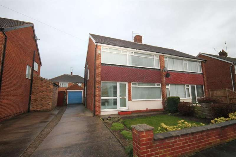 3 Bedrooms Semi Detached House for sale in Samaria Gardens, Middlesbrough