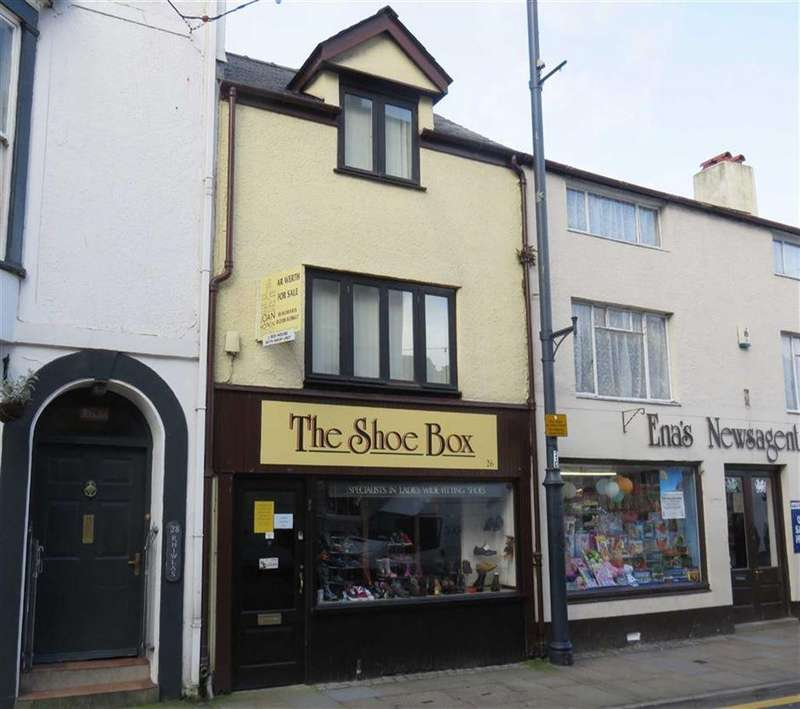2 Bedrooms Terraced House for sale in Castle Street, Beaumaris, Anglesey