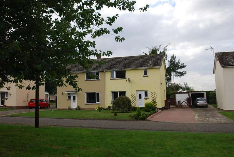 3 Bedrooms Semi Detached House for sale in Felsham