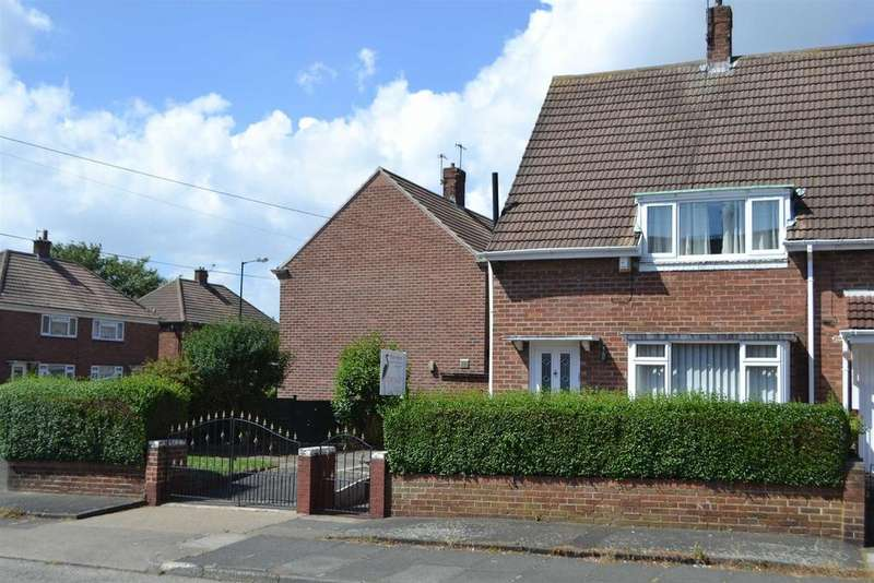 2 Bedrooms Semi Detached House for sale in Clovelly Road, Sunderland