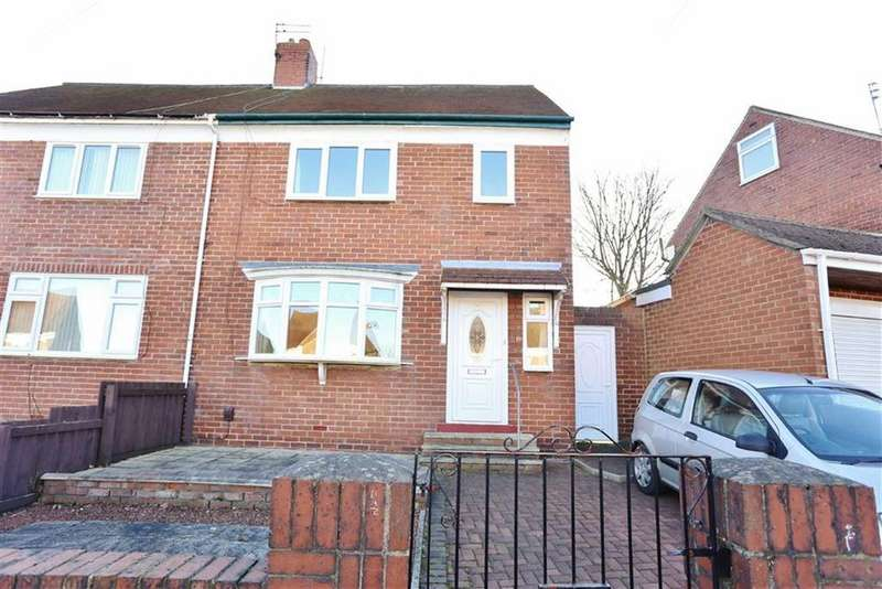 2 Bedrooms Semi Detached House for sale in Dene View Crescent, South Hylton, Sunderland, SR4