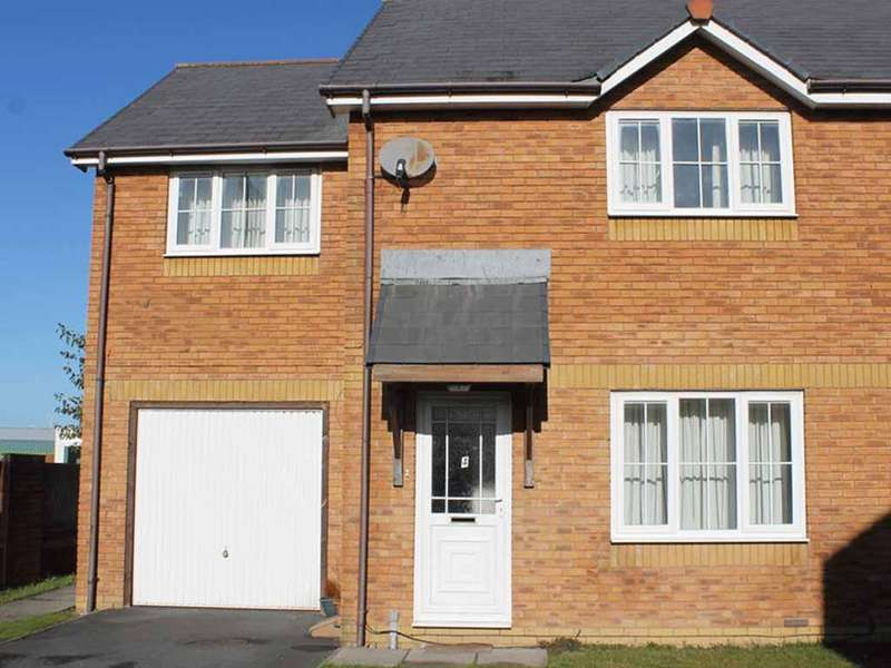 3 Bedrooms Semi Detached House for sale in Parc Y llyn, Aberystwyth SY23