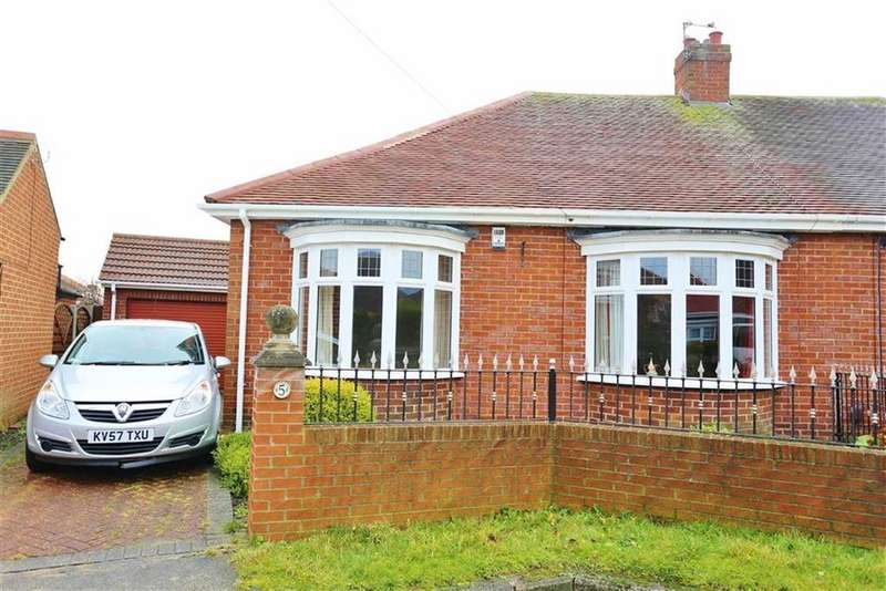 2 Bedrooms Semi Detached Bungalow for sale in Westfield Court, High Barnes, Sunderland, SR4