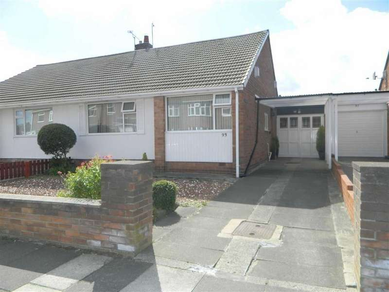 2 Bedrooms Bungalow for sale in Shaftesbury Crescent, Marden Farm, Tyne And Wear, NE30