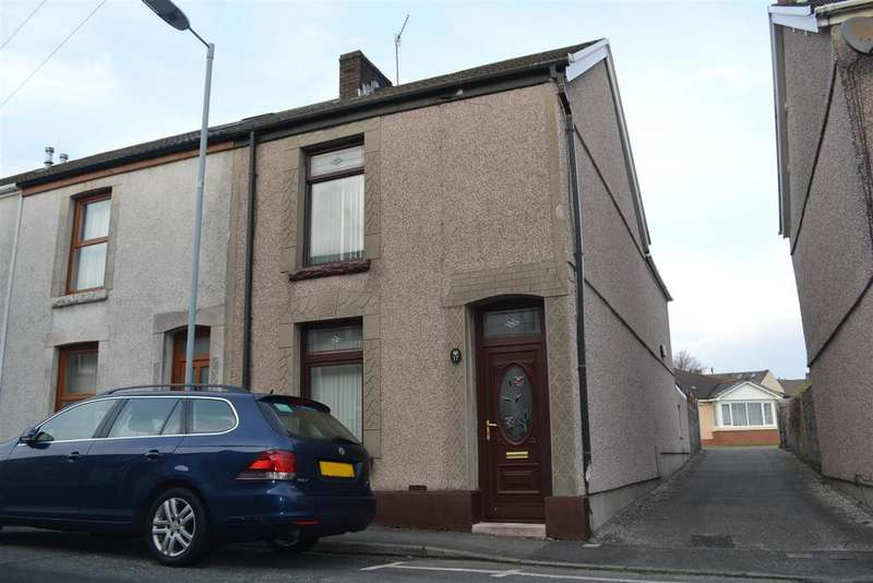 3 Bedrooms End Of Terrace House for sale in Pegler Street, Brynhyfryd, Swansea
