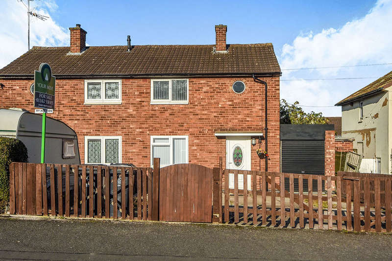 2 Bedrooms Semi Detached House for sale in Woodshawe Rise, Leicester, LE3