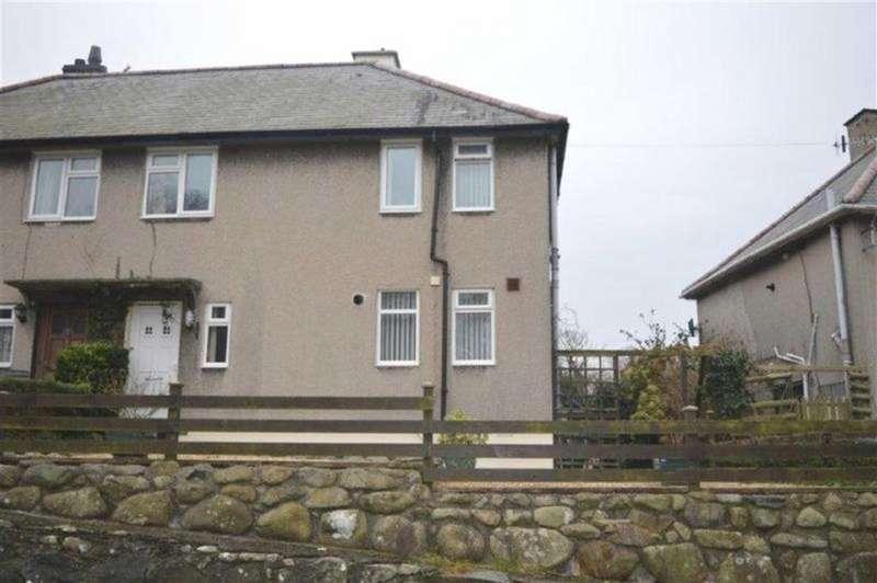 3 Bedrooms Semi Detached House for sale in 29, Godre'r Gaer, Llwyngwril, Gwynedd, LL37