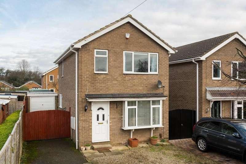 3 Bedrooms Detached House for sale in Newtondale Close, Knaresborough