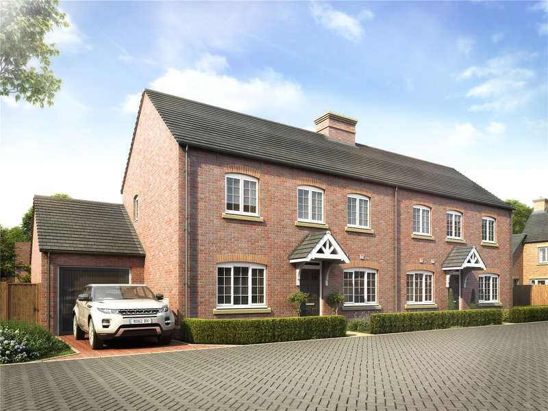 3 Bedrooms Semi Detached House for sale in Milton Road, Adderbury, Banbury, Oxfordshire, OX17