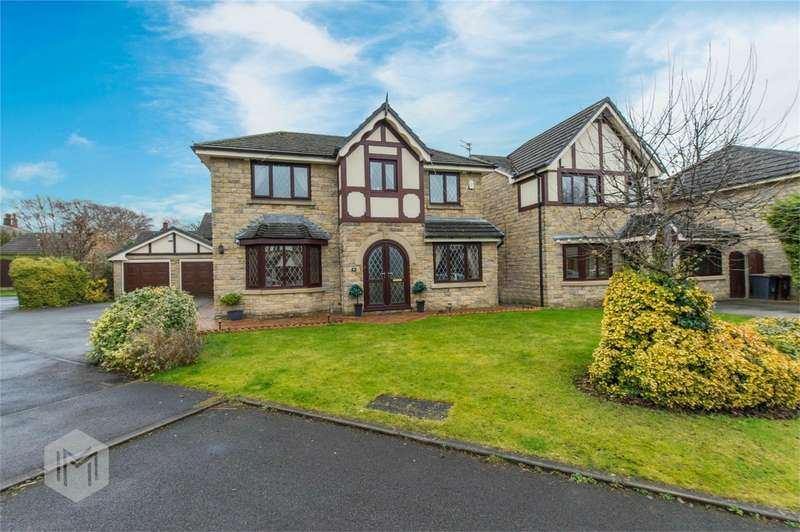 4 Bedrooms Detached House for sale in Kepplecove Meadow, Worsley, Manchester