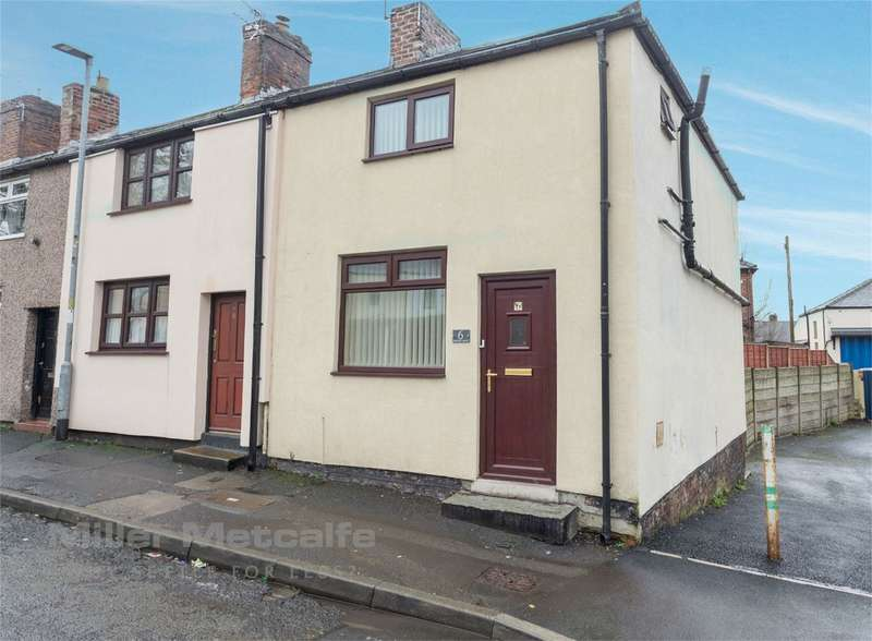 2 Bedrooms End Of Terrace House for sale in Romford Street, Hindley, Wigan, Lancashire