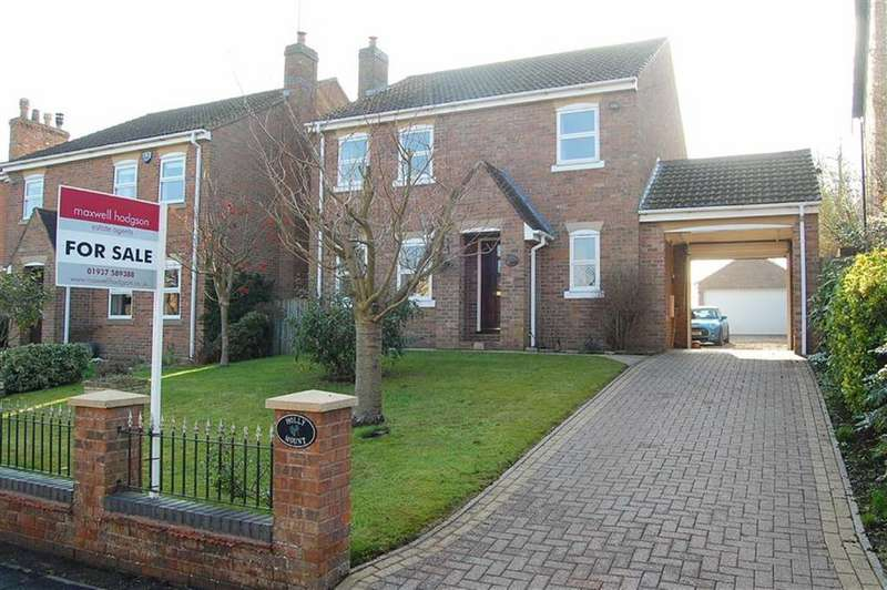 4 Bedrooms Detached House for sale in Main Street, Wighill, LS24
