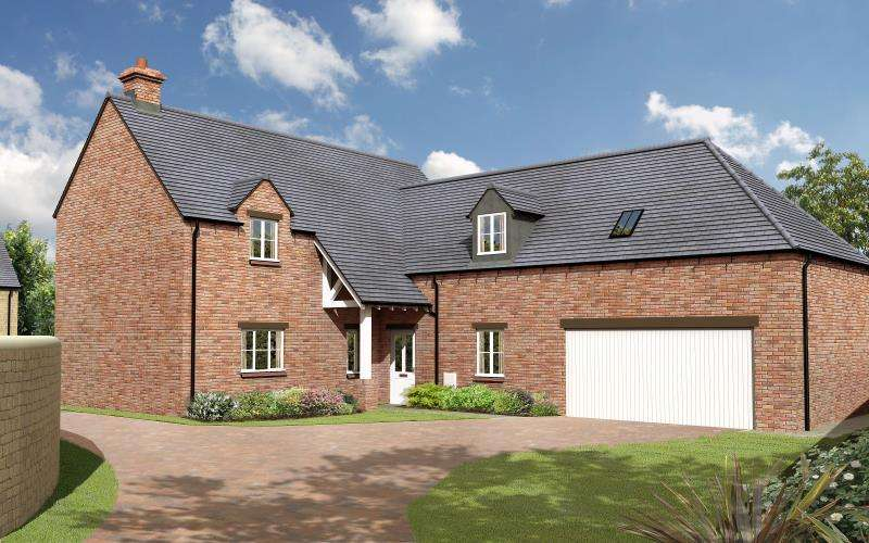 4 Bedrooms Detached House for sale in The Yew, Charity Farm, Woodstock Road, Stonesfield, Witney, Oxfordshire