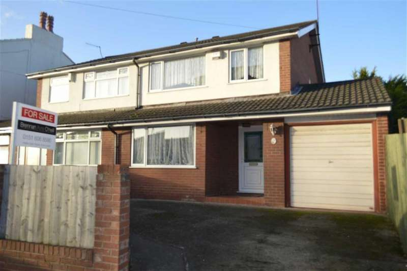 3 Bedrooms Semi Detached House for sale in Prenton Road West, Prenton, CH42