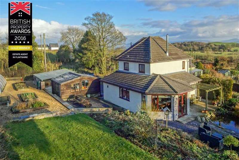 3 Bedrooms Detached House for sale in Clawddnewydd, Ruthin
