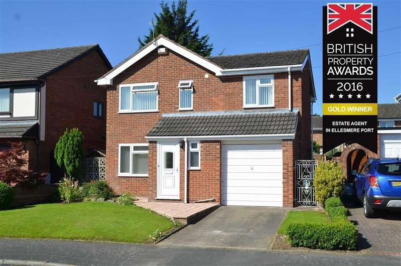4 Bedrooms Detached House for sale in Fairways Drive, Little Sutton, CH66