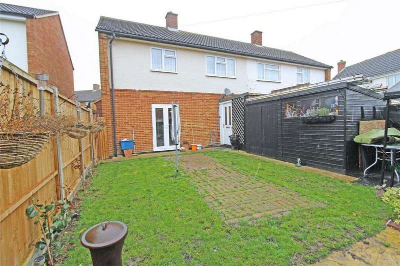 2 Bedrooms Semi Detached House for sale in Kimberley, Letchworth Garden City, Hertfordshire