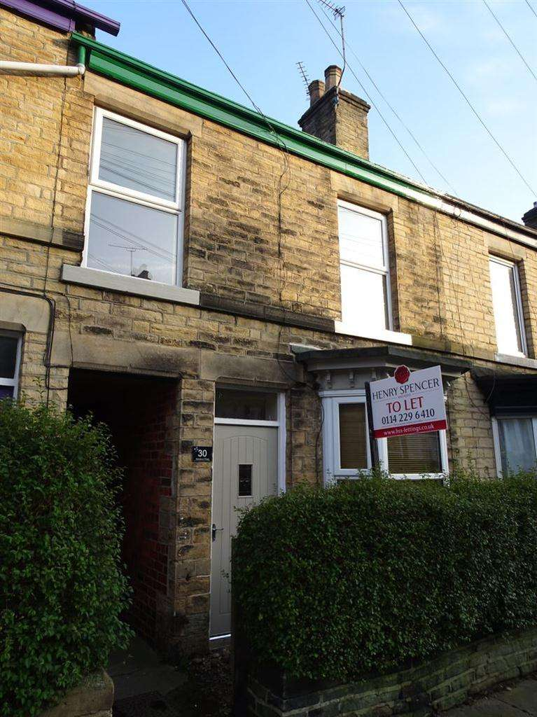 3 Bedrooms Terraced House for rent in Sailsbury Road, Crookes, Sheffield, S10 1WB