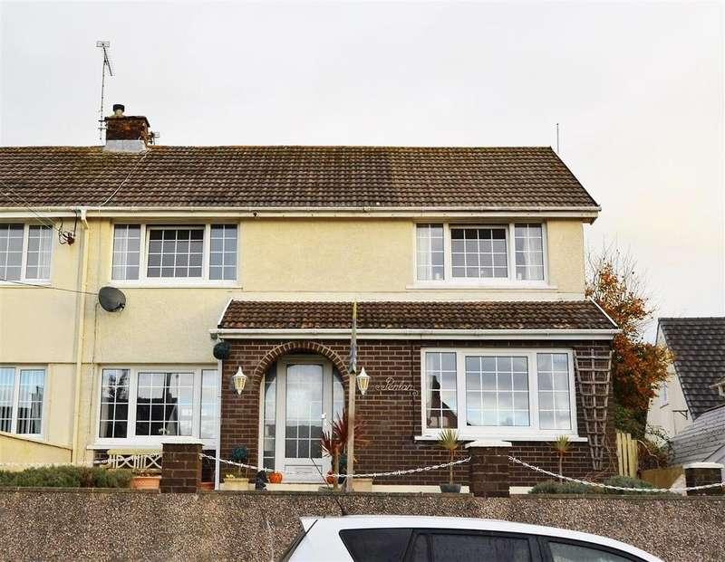 4 Bedrooms Semi Detached House for sale in Saundersfoot