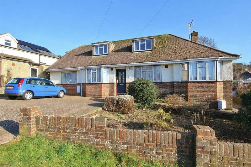 5 Bedrooms Detached Bungalow for sale in Downs Valley Road, Woodingdean