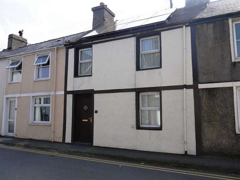 3 Bedrooms Terraced House for sale in 8 High Street, Talsarnau, Gwynedd