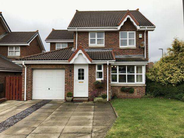 3 Bedrooms Detached House for sale in ASHBOURNE DRIVE, COXHOE, DURHAM CITY : VILLAGES EAST OF