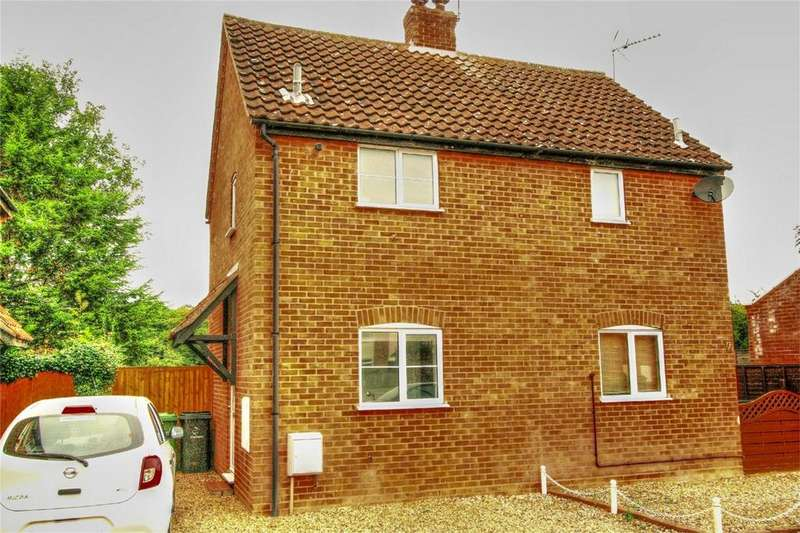 1 Bedroom Semi Detached House for sale in Kemps Barns, NR16 2TS, East Harling, NORWICH, Norfolk