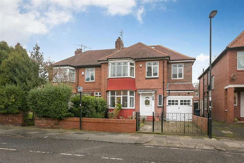 4 Bedrooms Semi Detached House for sale in Grosvenor Road, Jesmond, Newcastle upon Tyne