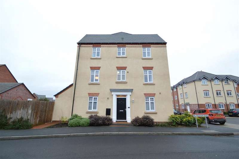 4 Bedrooms Terraced House for sale in 2 Laburnum Grove, Spring Gardens, Shrewsbury, SY1 2UT