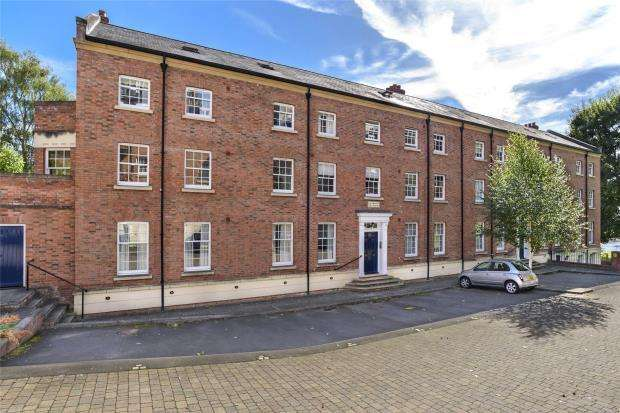 2 Bedrooms Flat for sale in Apartment 39, Lower Blackfriars Crescent, St. Marys Water Lane, Shrewsbury