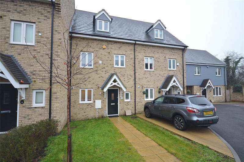 4 Bedrooms Terraced House for sale in Frelford Close, Garston, Hertfordshire, WD25