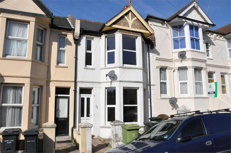 3 Bedrooms Terraced House for sale in Reginald Road, Bexhill on Sea