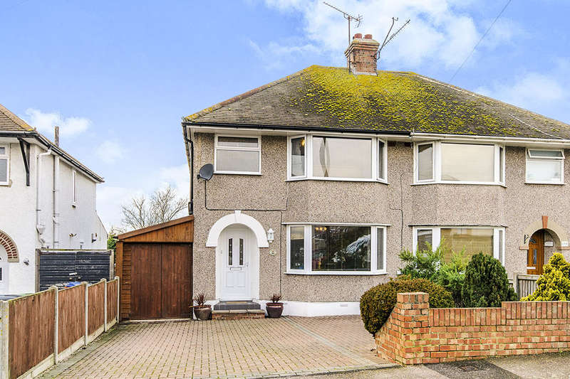 3 Bedrooms Semi Detached House for sale in Clifftown Gardens, Herne Bay, CT6