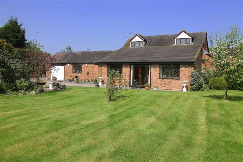 4 Bedrooms Detached House for sale in Wybunbury Lane, Nantwich, Cheshire